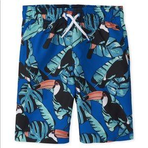 Boys Toucan Swim Trunks